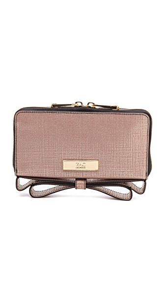 ZAC Zac Posen Screen Milla Zip Around Organizer