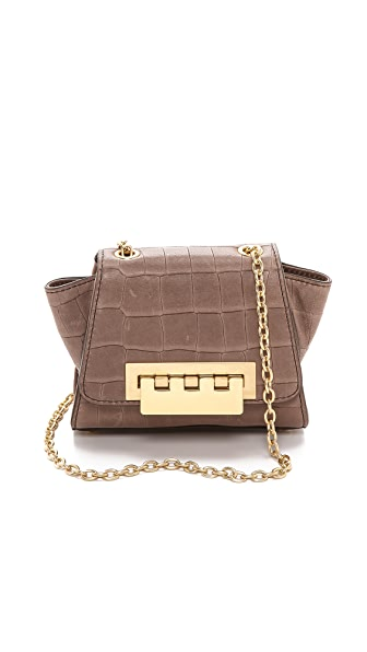ZAC Zac Posen Eartha Croc Embossed Mini Cross Body Bag