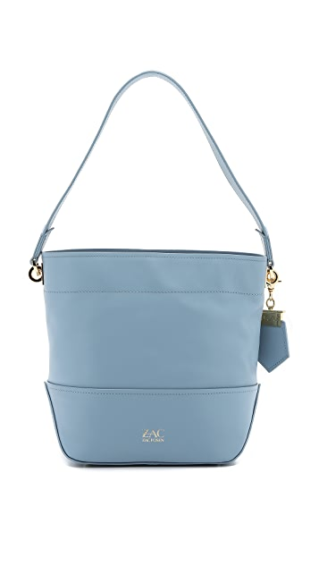 ZAC Zac Posen Eartha Envelope Drawstring Bucket Bag