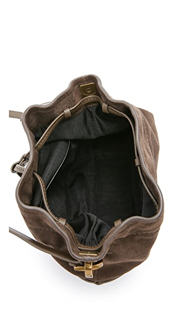 ZAC Zac Posen Eartha Envelope Mini Drawstring Bucket Bag