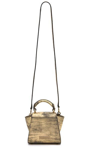 ZAC Zac Posen Eartha Mini Top Handle Cross Body Bag