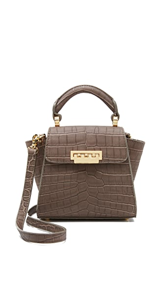 ZAC Zac Posen Croc Embossed Eartha Mini Cross Body Bag
