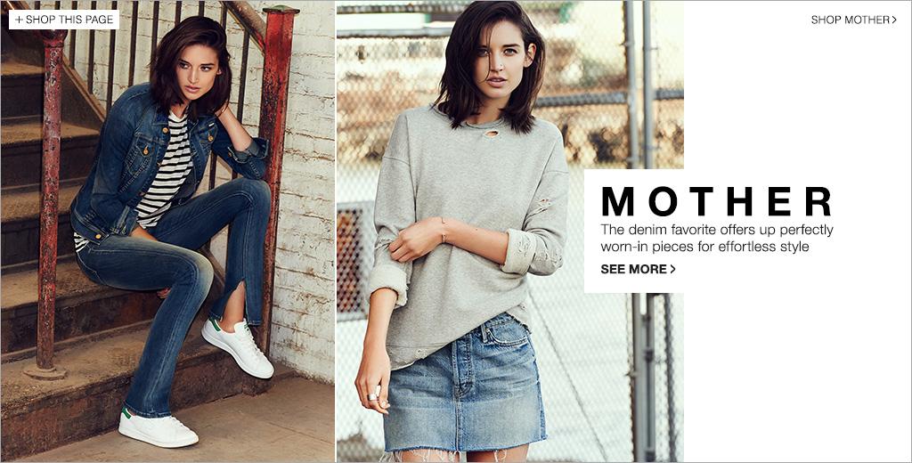cb4b4c7ef851 MOTHER Brand Jeans Spring 2015 - Denim Lookbook | SHOPBOP