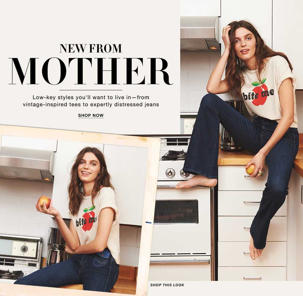 9bd8def73a45 Mother Denim Jeans & Tees - Jeans and Tshirts Lookbook | SHOPBOP