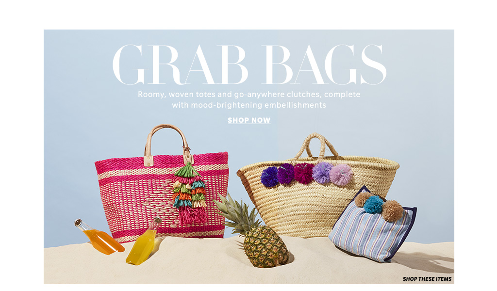 65 Beach Bags, Totes & Straw Clutches Summer 2016 Lookbook | SHOPBOP