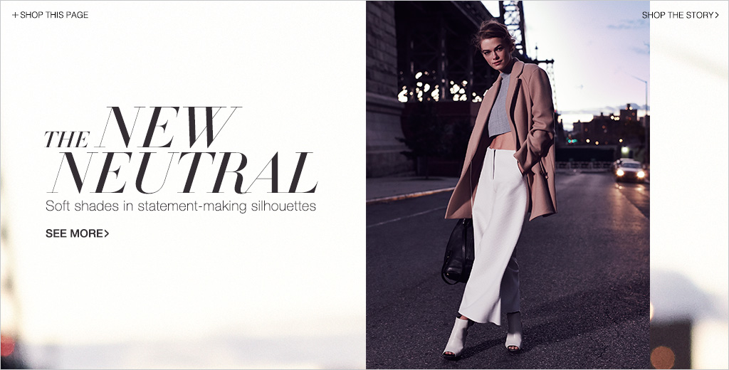 Neutral Colors Fashion Lookbook | SHOPBOP