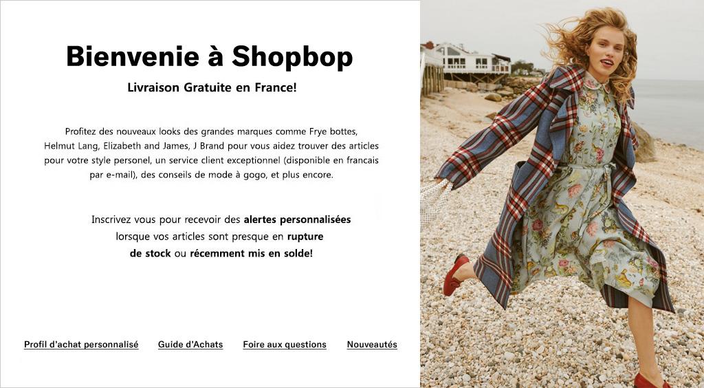 Shopbop France   DESIGNER Shop Femme Marques Mode 2080fb189897