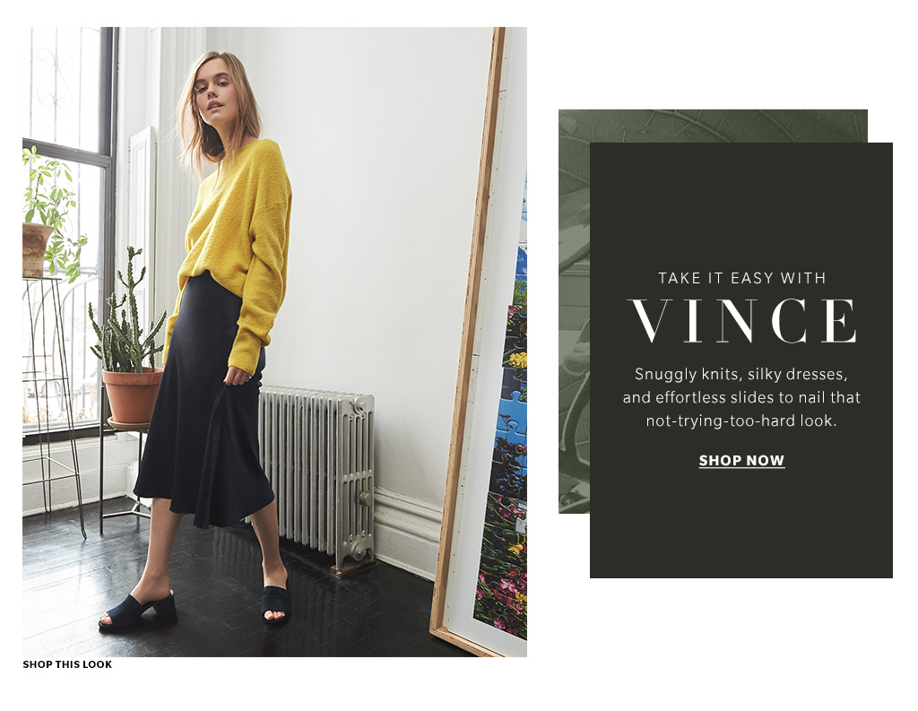 cdc9970b75c Vince Clothing   Shoes Spring 2017 - Lookbook