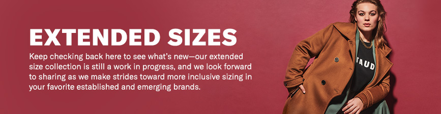 Shop Extended Sizes