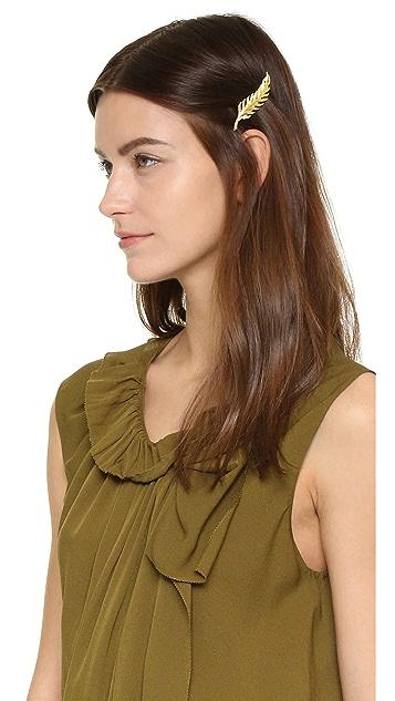 Avigail Adam Leaf Hair Clip