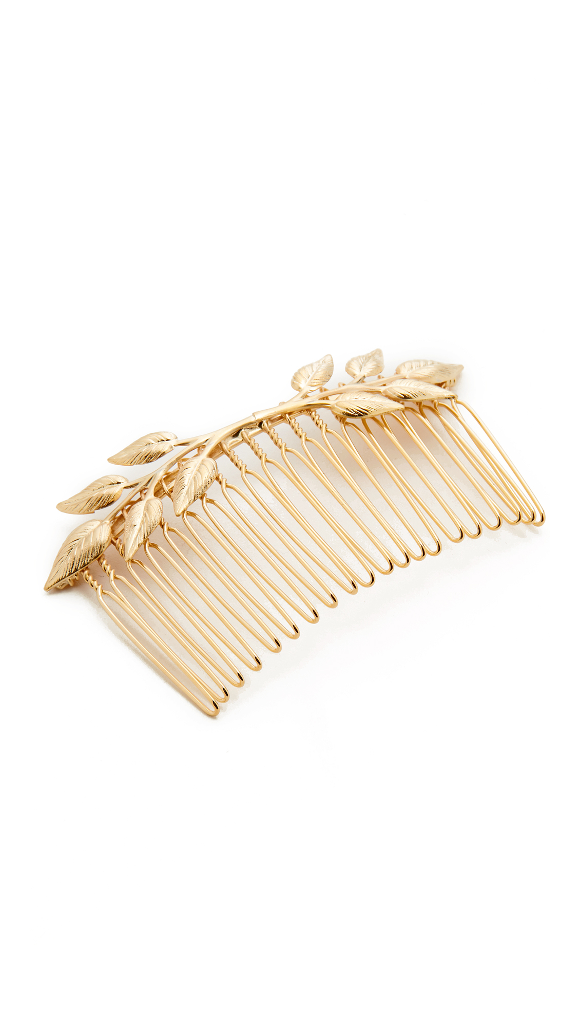Avigail Adam Arden Hair Comb - Gold at Shopbop