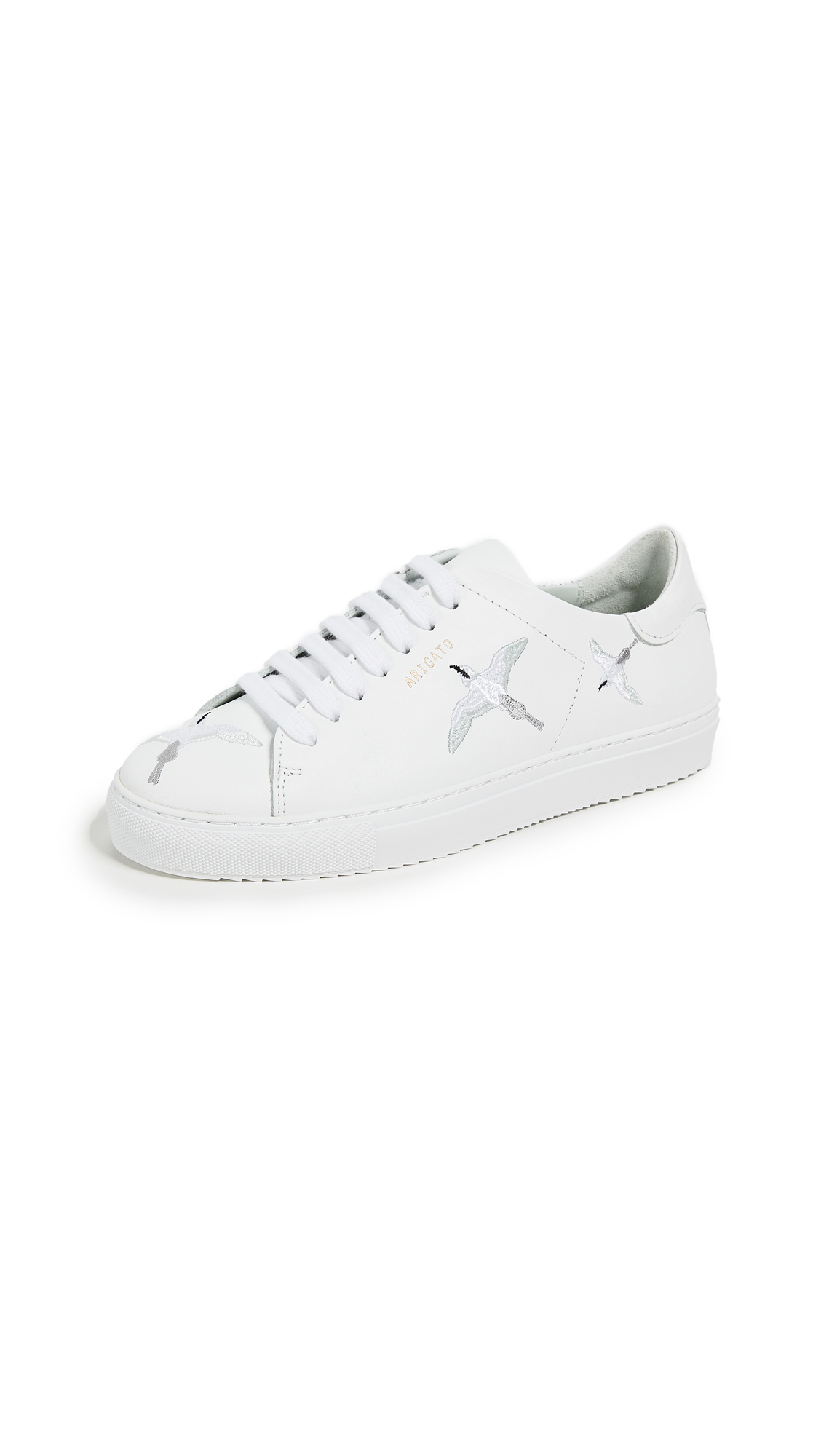 Axel Arigato Clean 90 Embroidery Sneakers - White