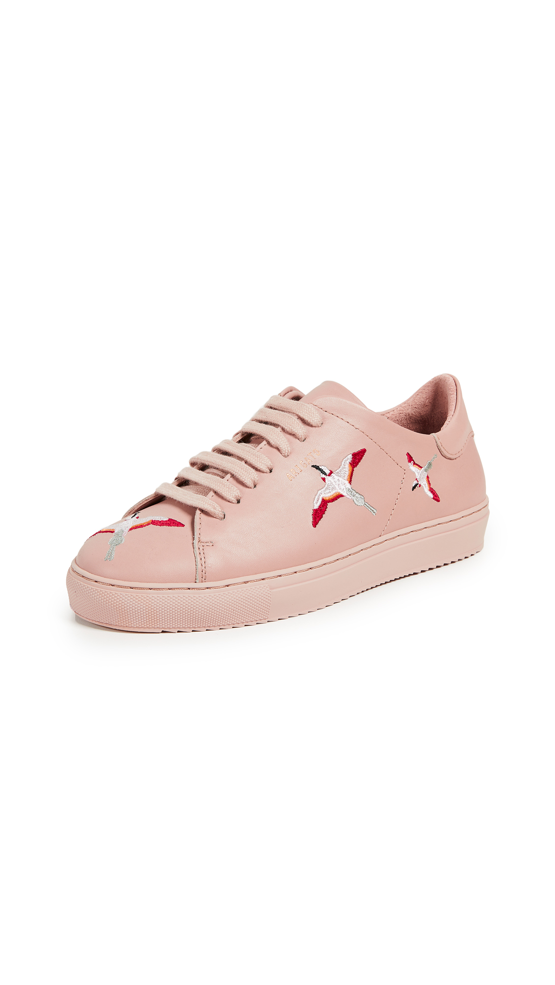 Axel Arigato Clean 90 Embroidery Sneakers - Pale Pink