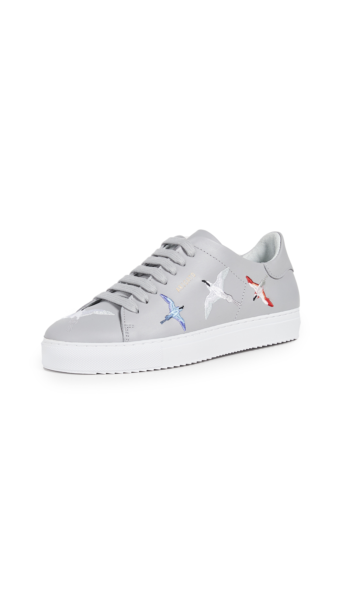 Axel Arigato Clean 90 Sneakers - Light Grey
