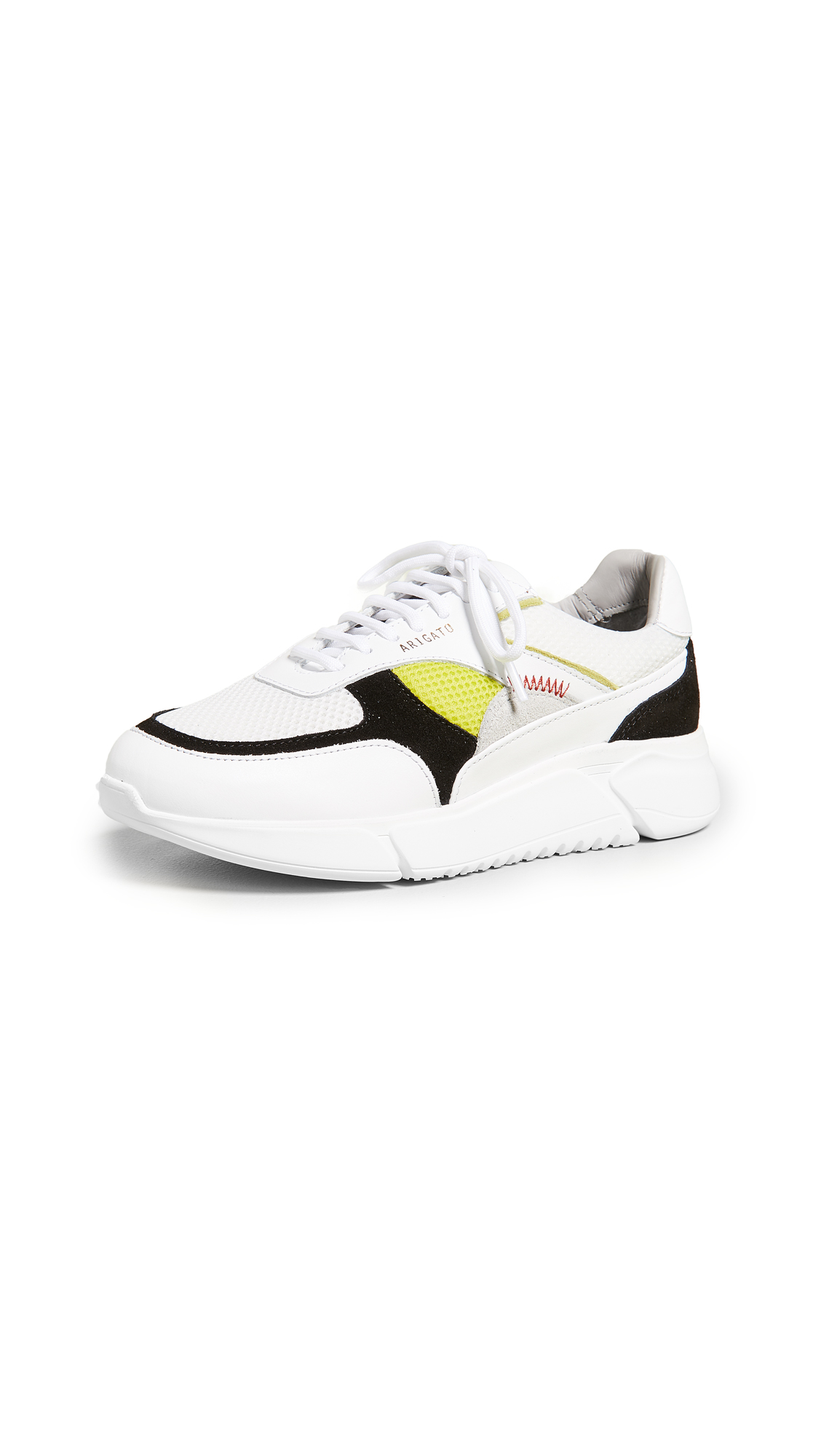 Axel Arigato Genesis Sneakers - White/Black/Yellow