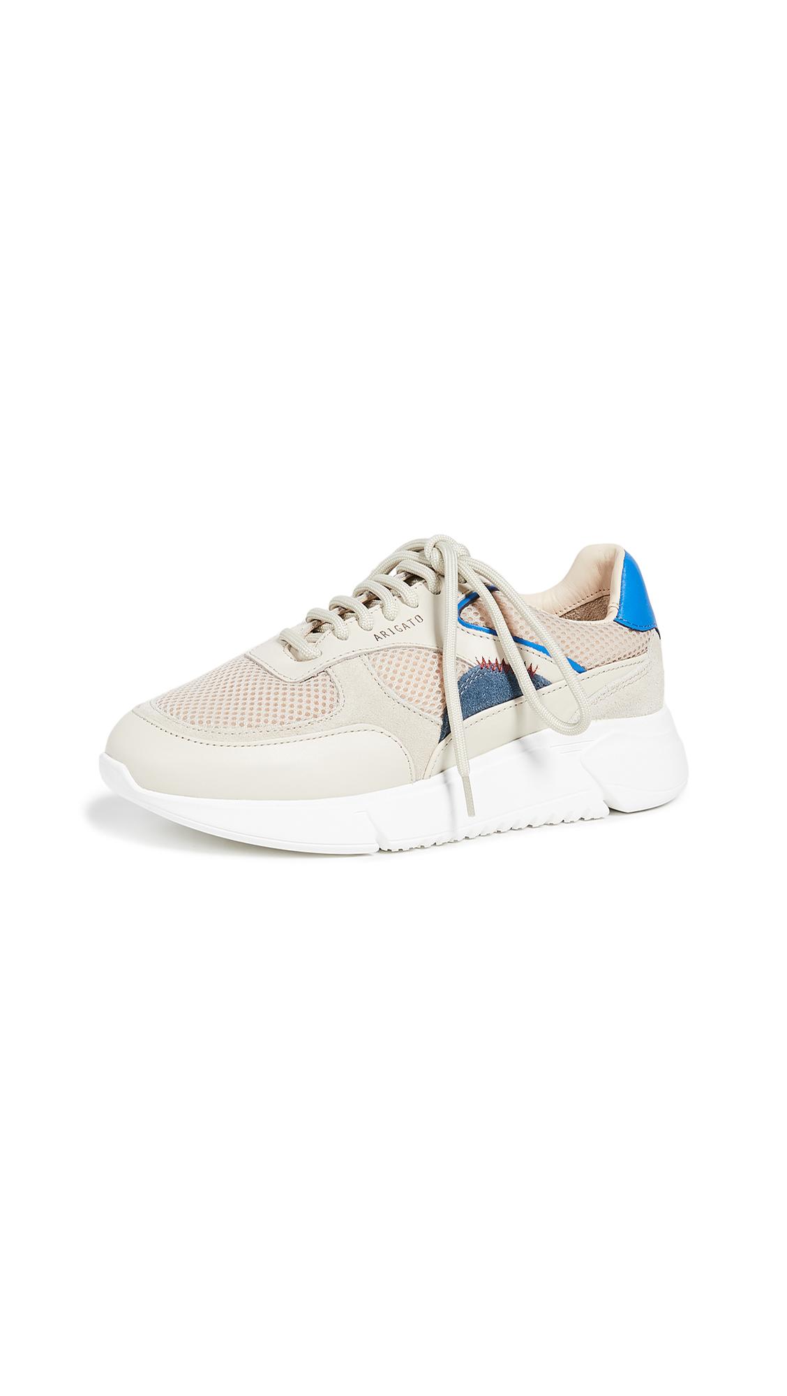 Axel Arigato Genesis Sneakers - Beige/Grey/Blue