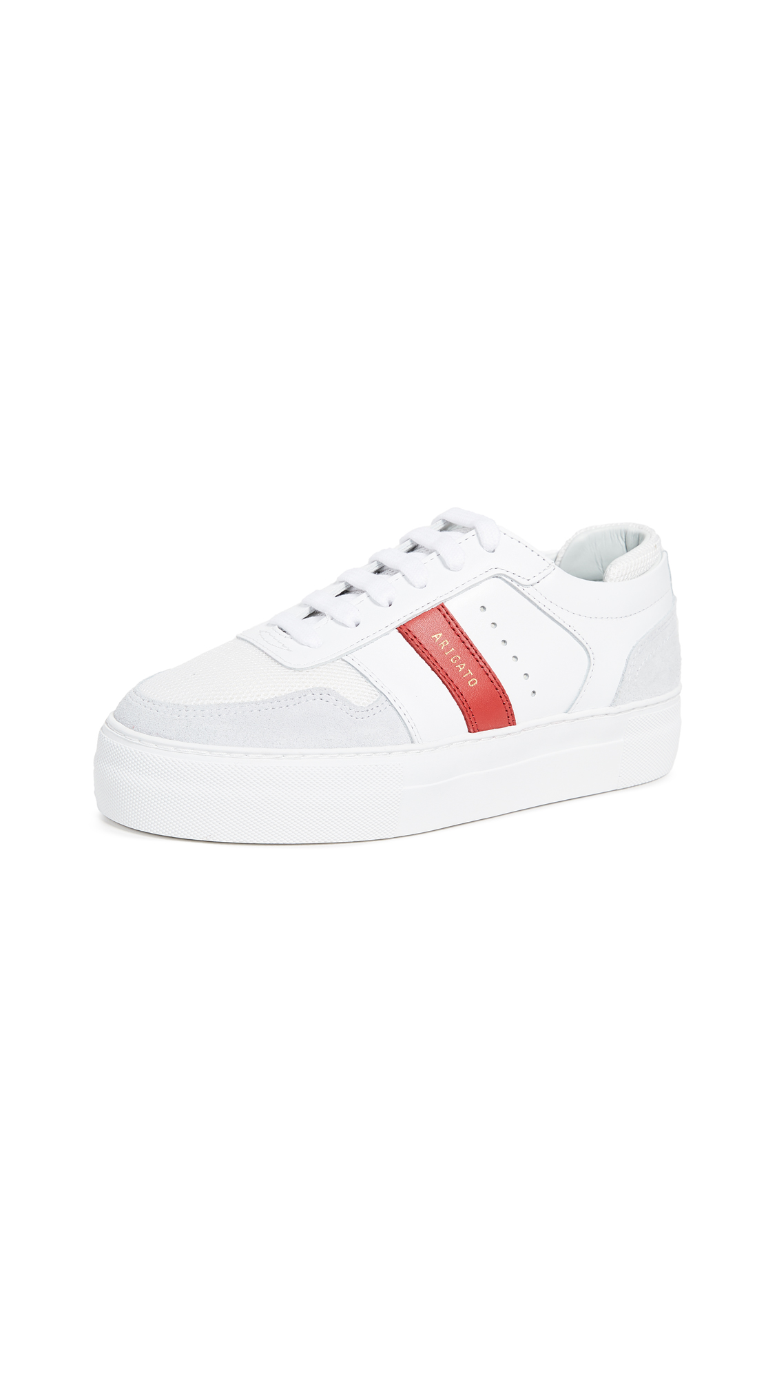 Axel Arigato Platform Detailed Sneakers - White/Red