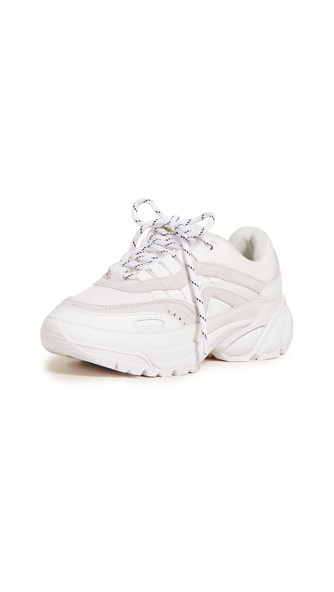 Axel Arigato Demo Runner Sneakers - White/Beige