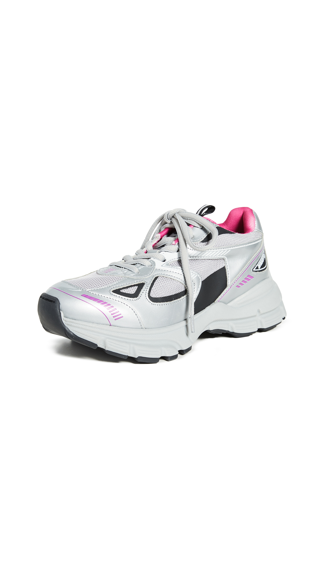 Axel Arigato Marathon Sneakers - Grey/Pink/Black