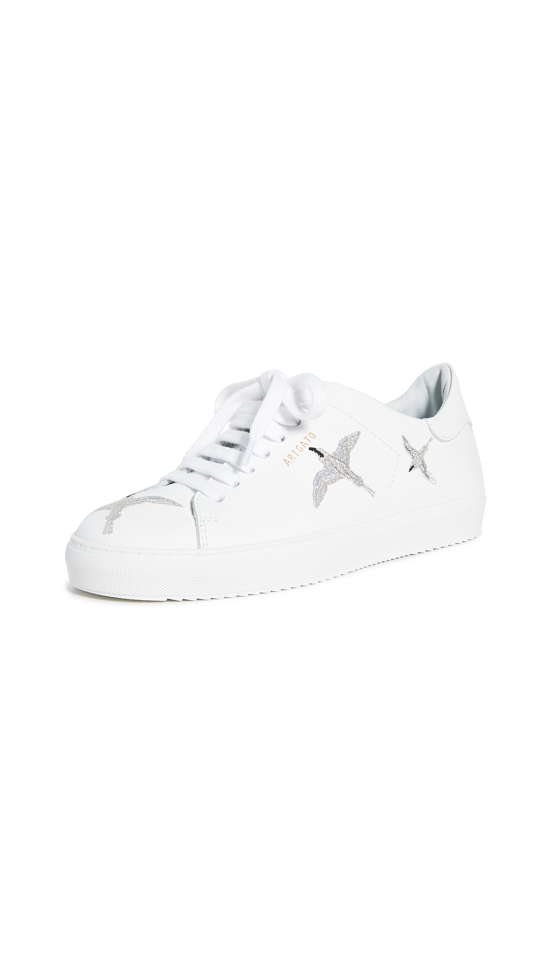 Axel Arigato Clean 90 Sneakers - White/Silver