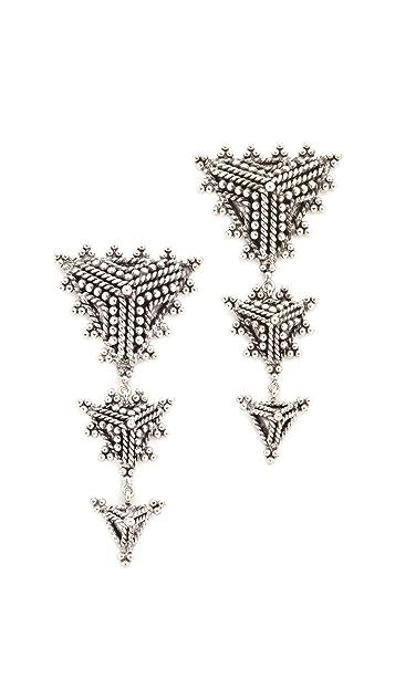 Aaryah Trikona Earrings