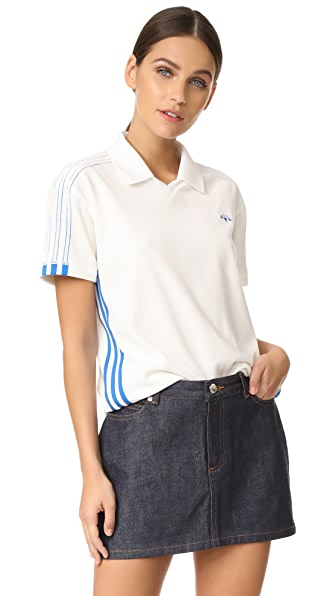adidas Originals by Alexander Wang Velour Polo Shirt