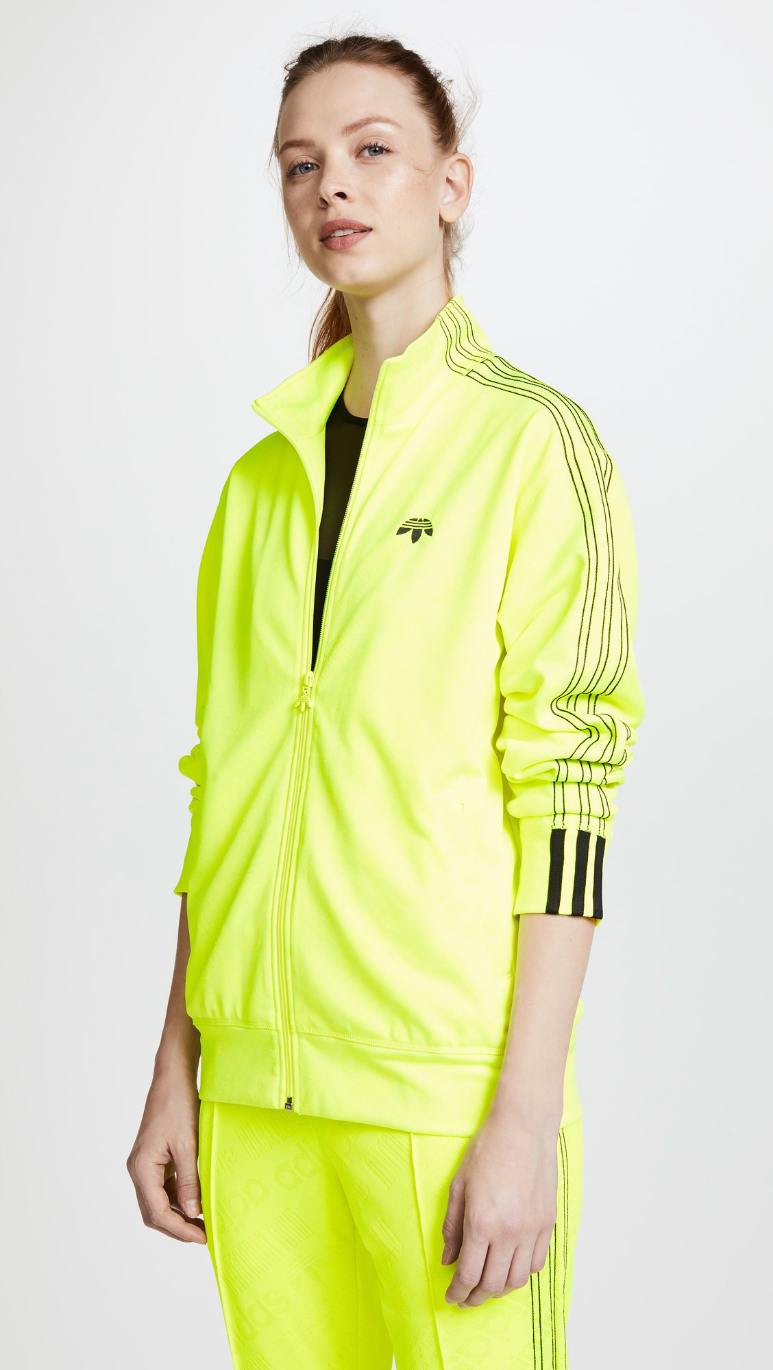 b14f118010a adidas Originals by Alexander Wang AW Jacquard Zip Up