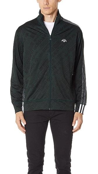 adidas Originals by Alexander Wang AW Jacquard Track Jacket