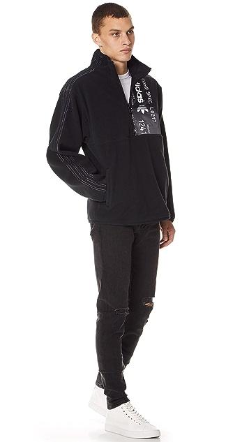 adidas Originals by Alexander Wang AW Polar Half Zip Jacket