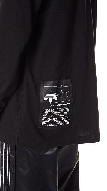 adidas Originals by Alexander Wang AW Graphic Long Sleeve Tee