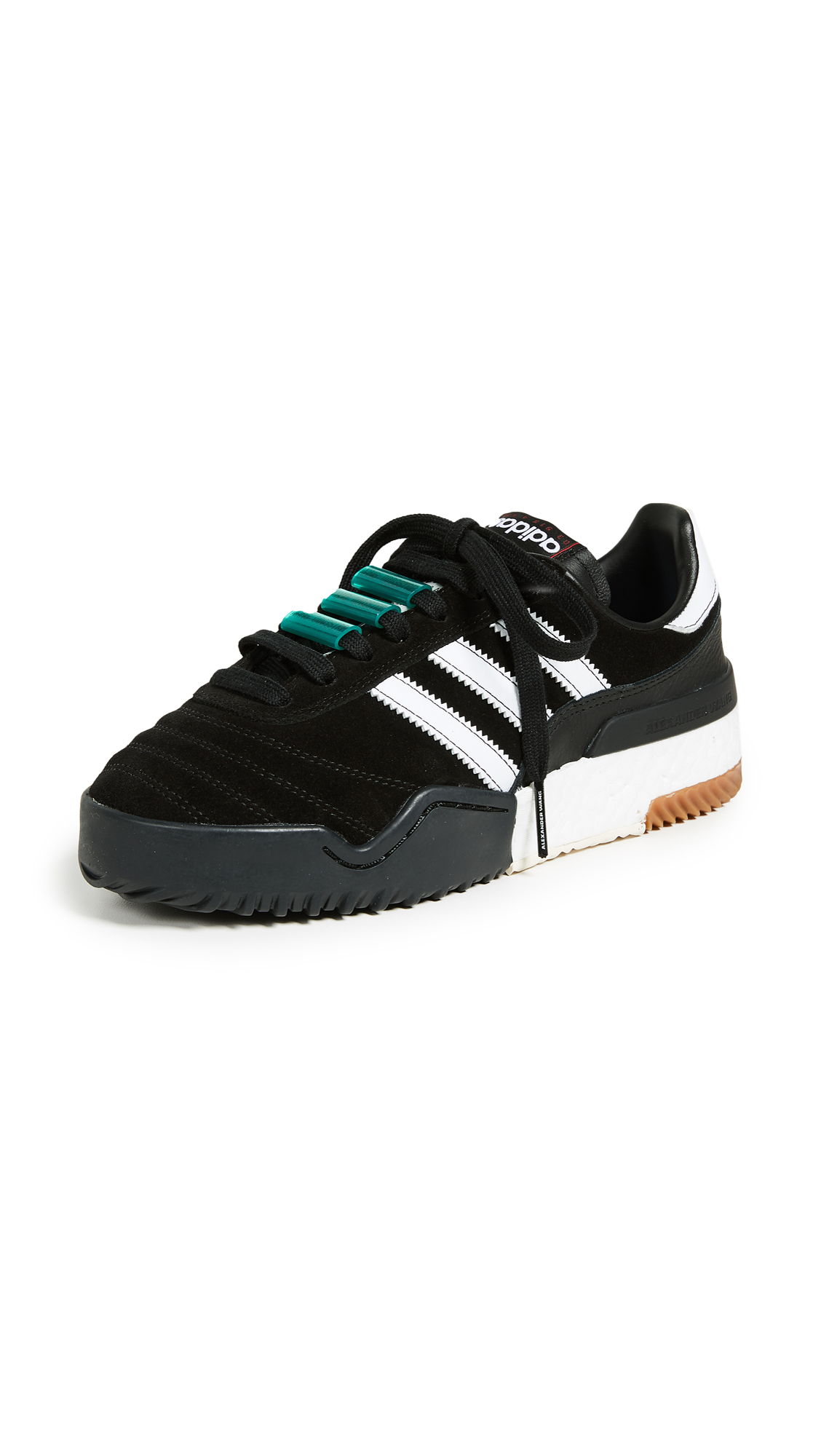 adidas Originals by Alexander Wang AW Bball Soccer Sneakers - Core Black/Ftwr White/Black