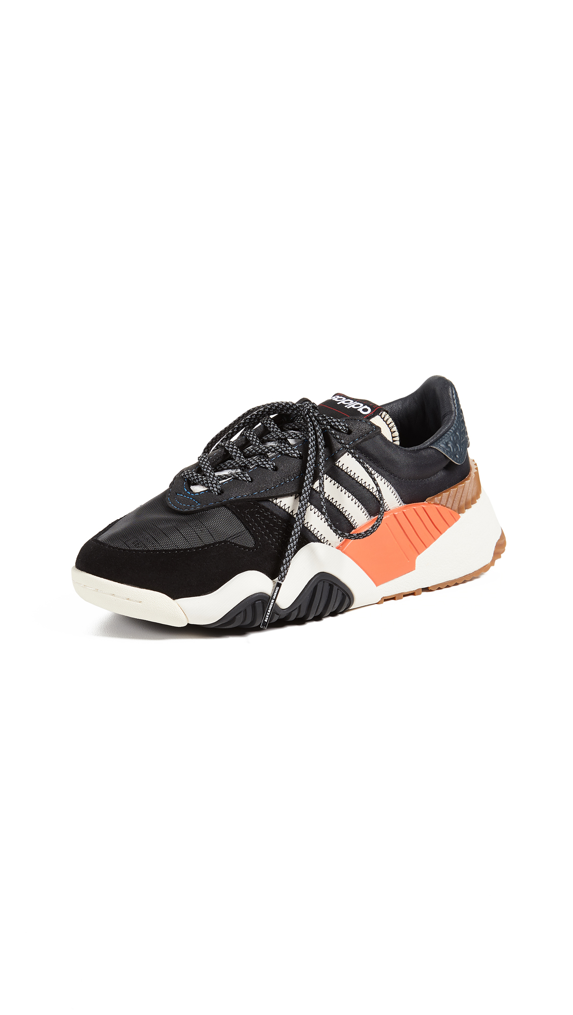 adidas Originals by Alexander Wang AW Turnout Trainers - Core Black/Core White/Borang