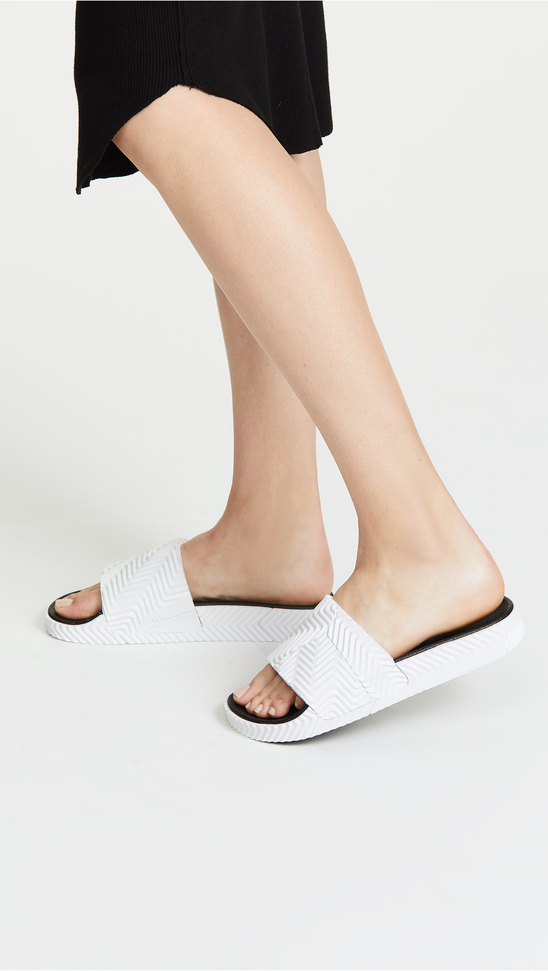 sports shoes 84f8c 95c12 adidas Originals by Alexander Wang AW Adilette Slides  SHOPB