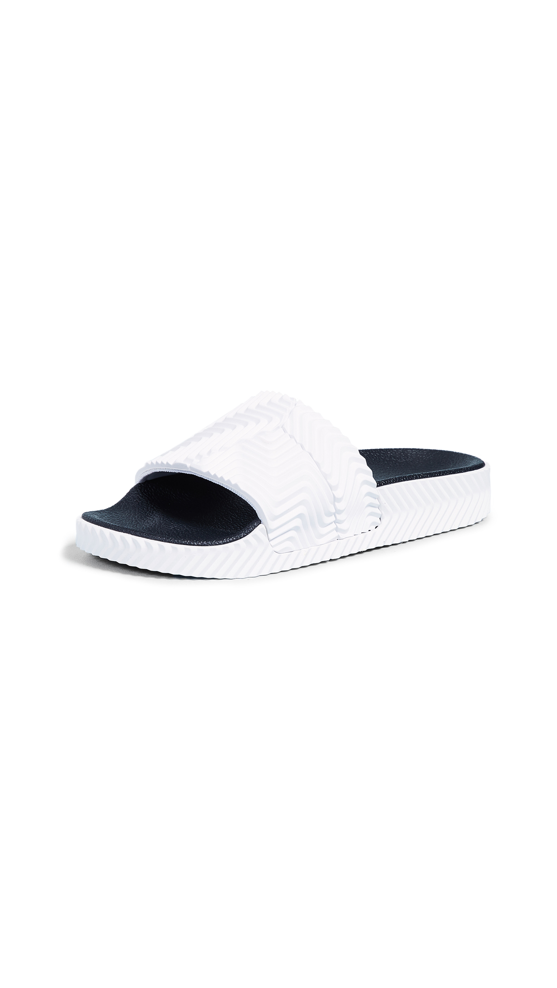 adidas Originals by Alexander Wang AW Adilette Slides - Ftwr White
