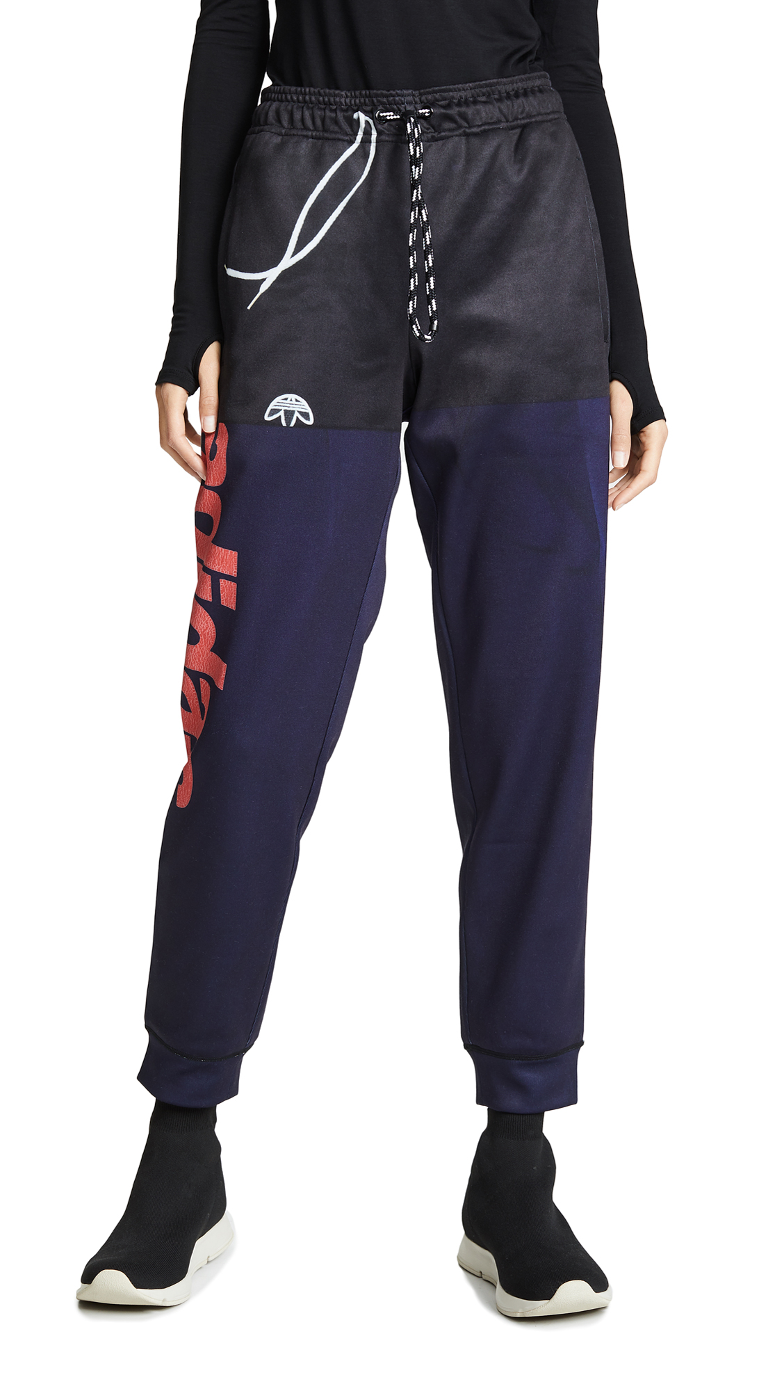 adidas Originals by Alexander Wang Photocopy Sweatpants - Legend Ink/Scarlet