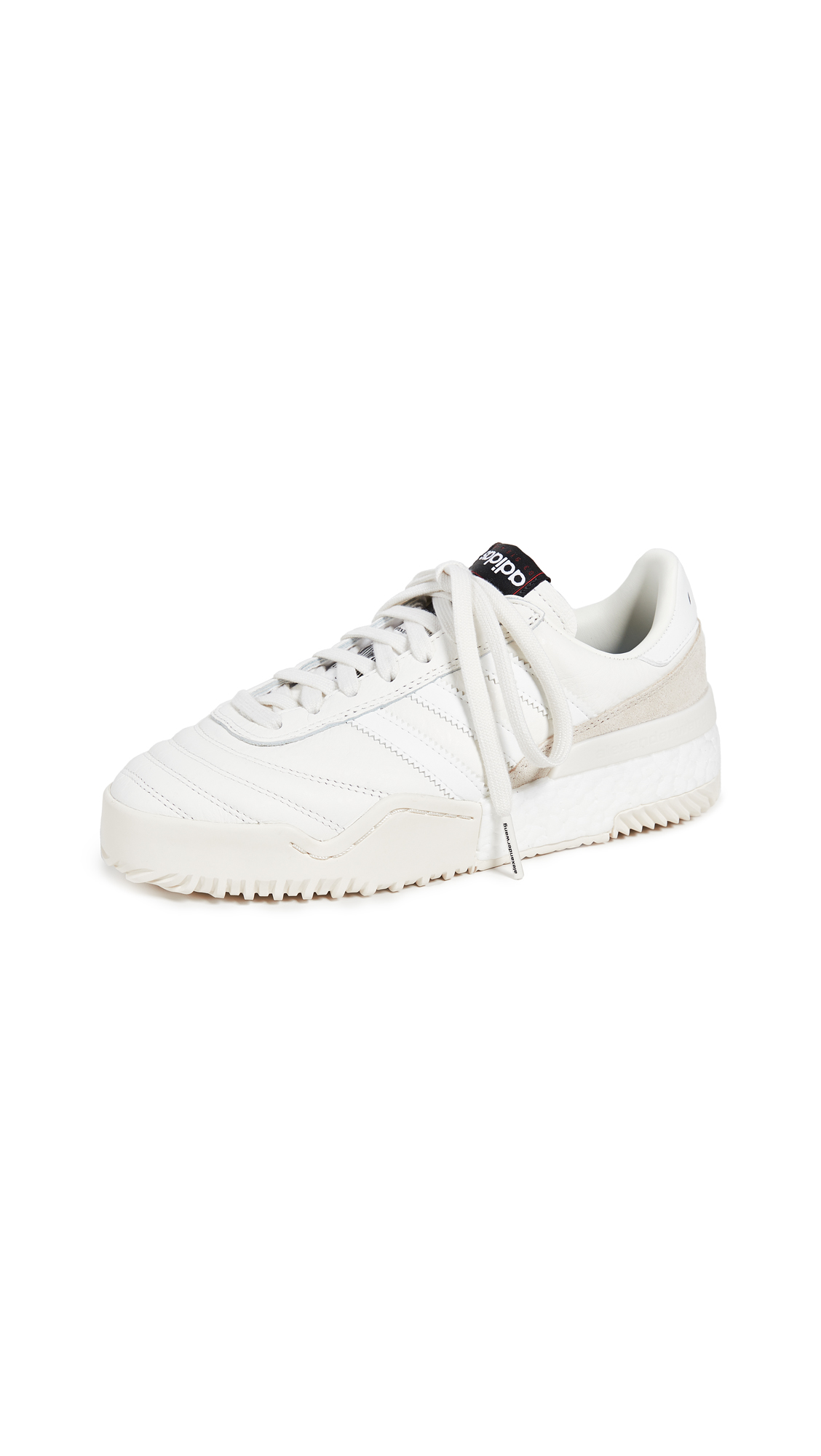 adidas Originals by Alexander Wang AW Soccer Bbal Sneakers - Cwhite/Cwhite/Cbrown