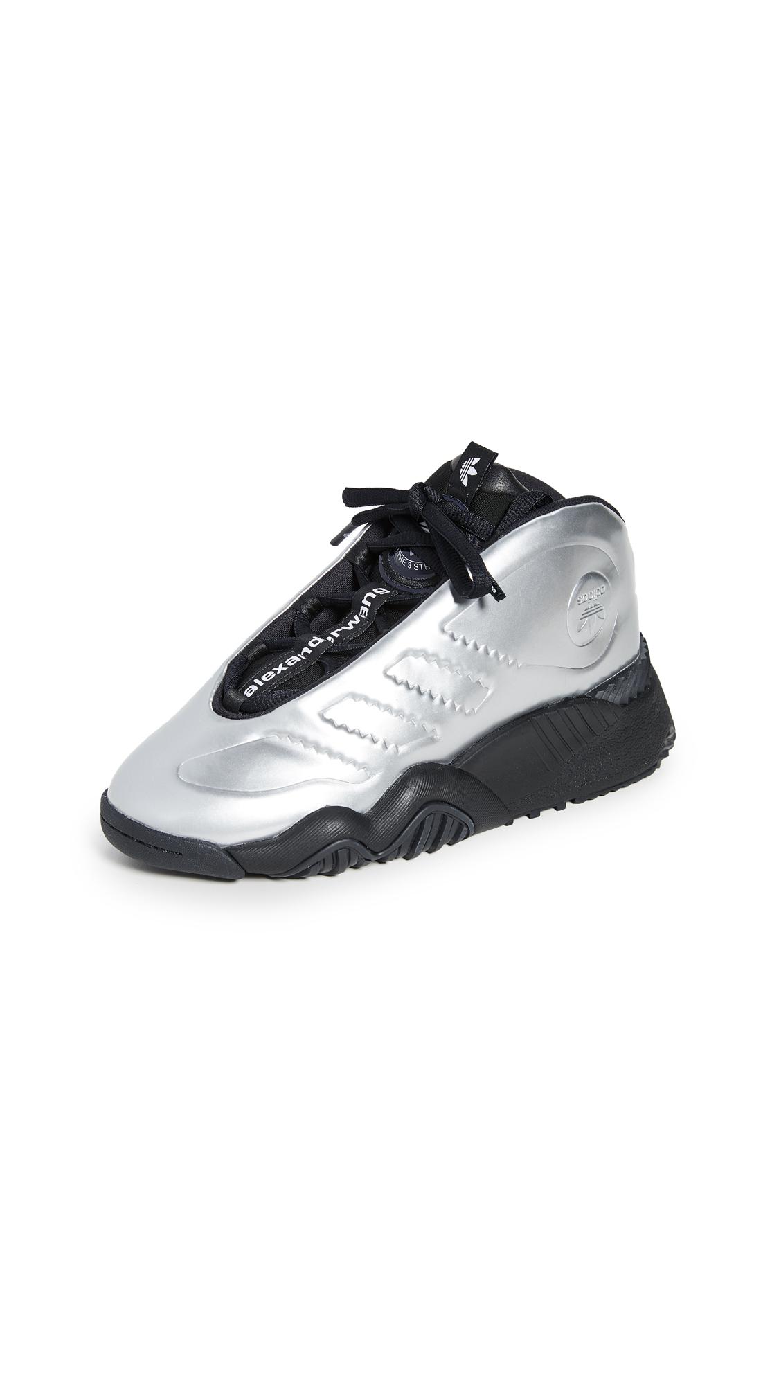 adidas Originals by Alexander Wang AW Futureshell Sneakers - Platin Met/Core Black