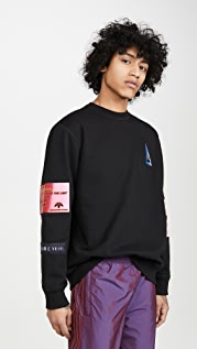 adidas Originals by Alexander Wang Flex2Club Crew Sweatshirt