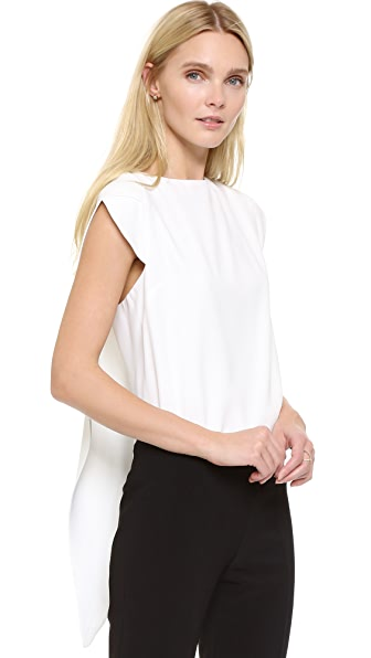 Antonio Berardi Sleeveless Top - Off White at Shopbop