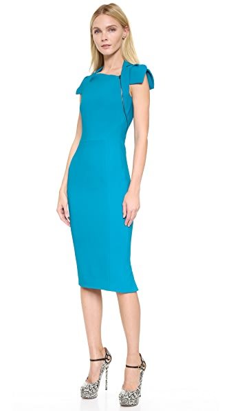 Antonio Berardi Short Sleeve Dress - Blue