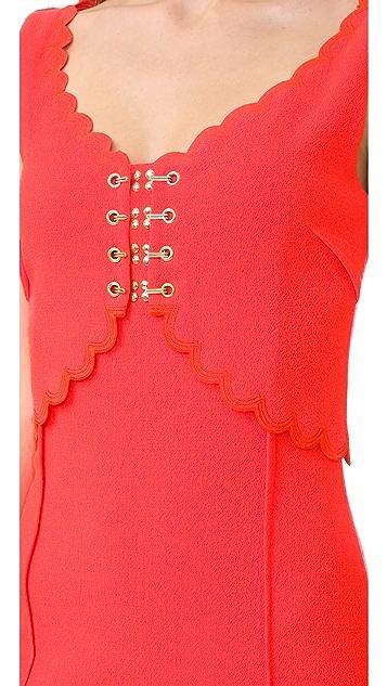 Antonio Berardi Short Sleeve Dress
