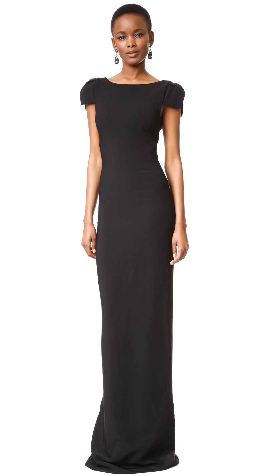 Antonio Berardi Gown - Black at Shopbop