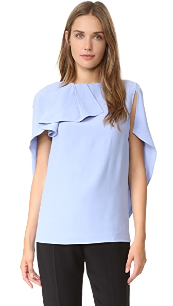 Antonio Berardi Cape Top - Light Blue at Shopbop