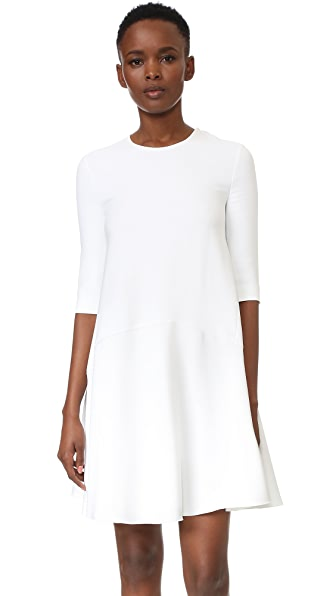Antonio Berardi Long Sleeve Dress - White at Shopbop