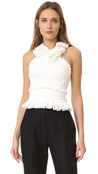 Antonio Berardi Sleeveless Top - White at Shopbop