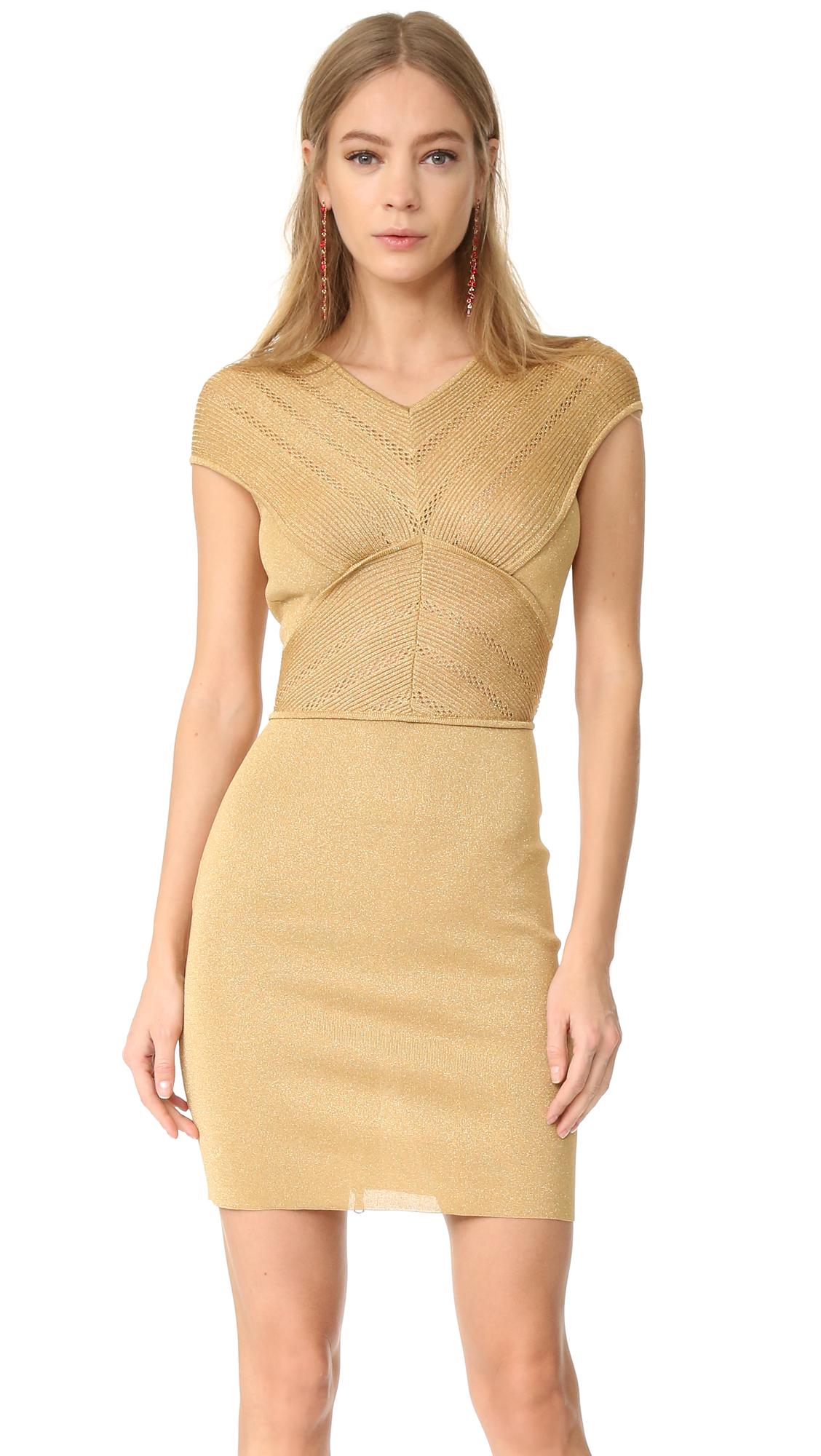 Antonio Berardi Sleeveless Dress - Oro at Shopbop