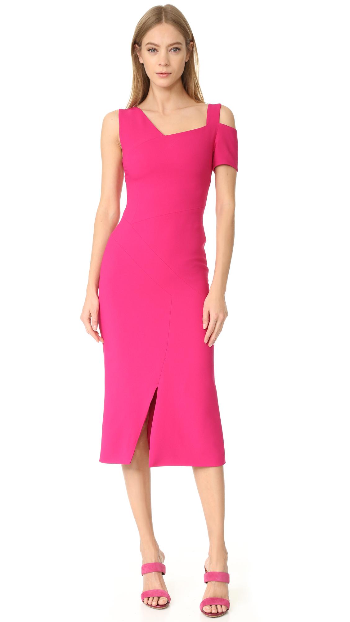 Antonio Berardi Knee Length Dress - Cardinale at Shopbop