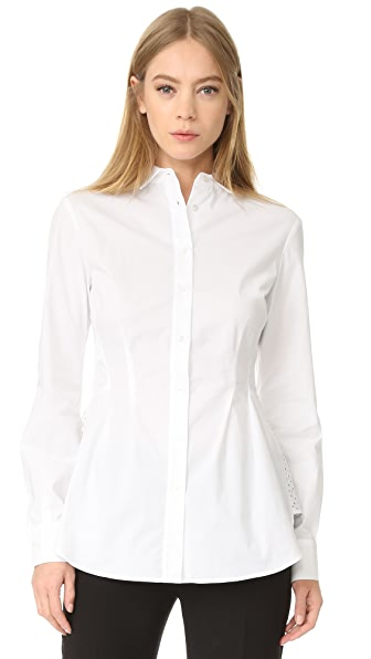 Antonio Berardi Button Down Blouse - Bianco Ottico