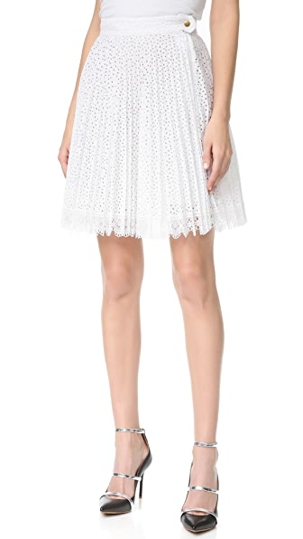 Antonio Berardi Pleated Skirt - Bianco Ottico