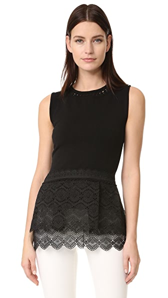 Antonio Berardi Sleeveless Top - Nero